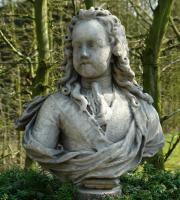 18de eeuwse buste van een edelman