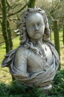 18th century bust of a nobleman