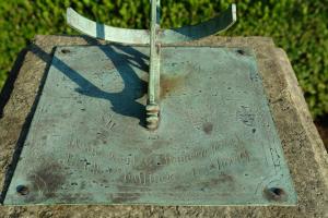 Een vroeg 19de eeuwse zonnewijzer