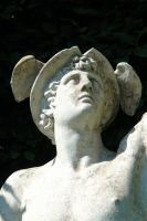 19th century statue of Mercury