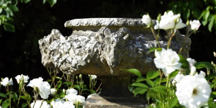 A Pulham stoneware urn, late 19th century