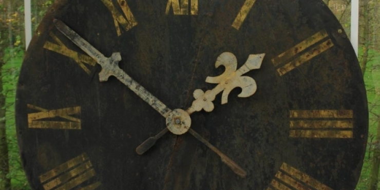 Clockface, circa 1900