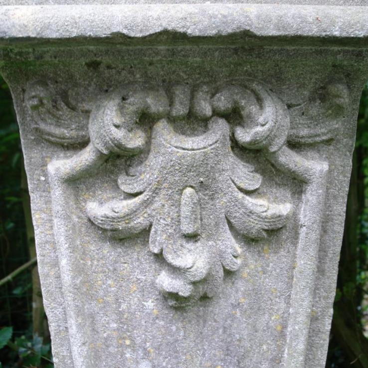 18th century bluestone socle