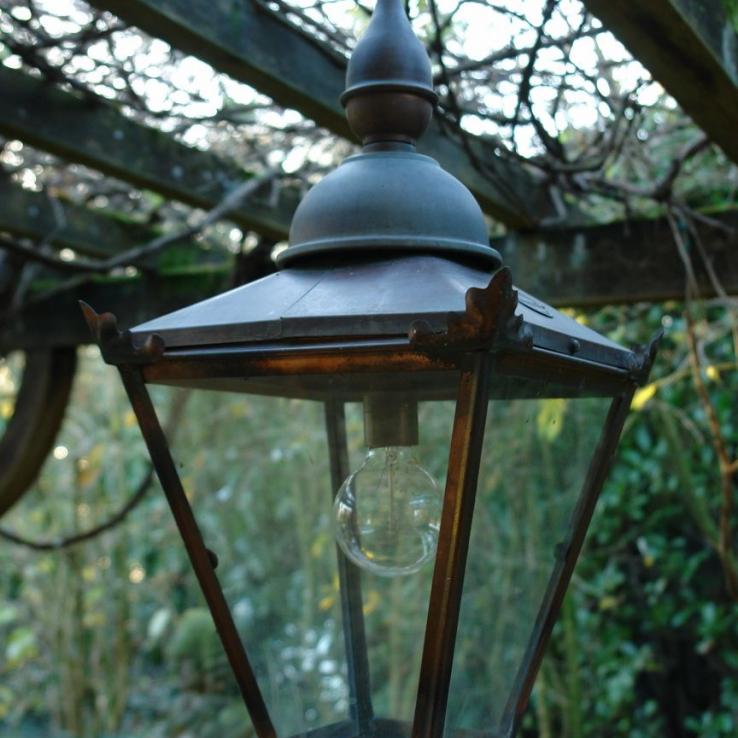 Copper outside lantern