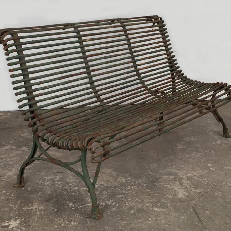19th century Arras garden seat