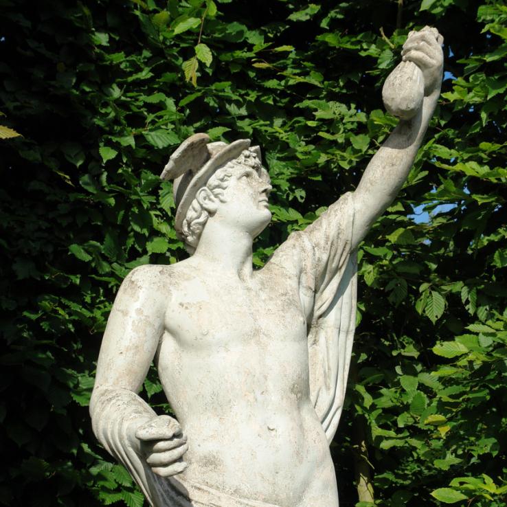 19de eeuws beeld Mercurius